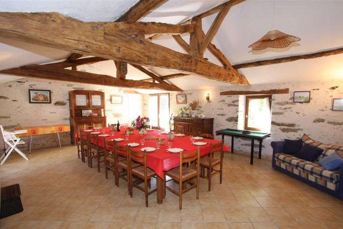 Gite de groupe en Vendée avec salle de réunion