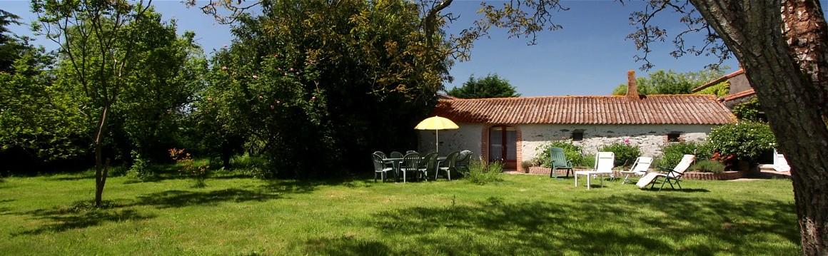 Gite de groupe en Vendée de 10 à 14 personnes