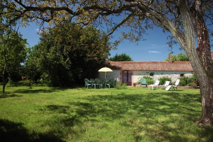 Gite de groupe arborée en Vendée