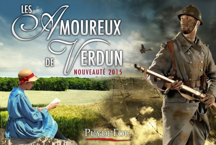 Amoureux de Verdun spectacle du Puy du Fou