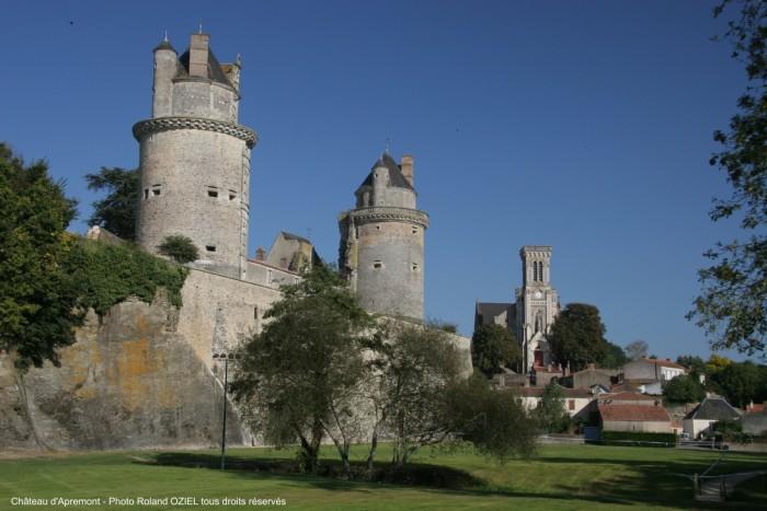 Visite du chateau d'apremont