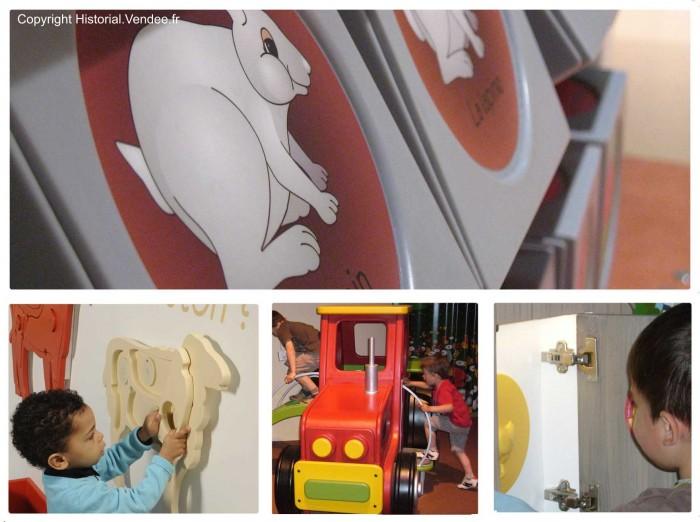 Musée des enfants à l'Historial de la Vendée