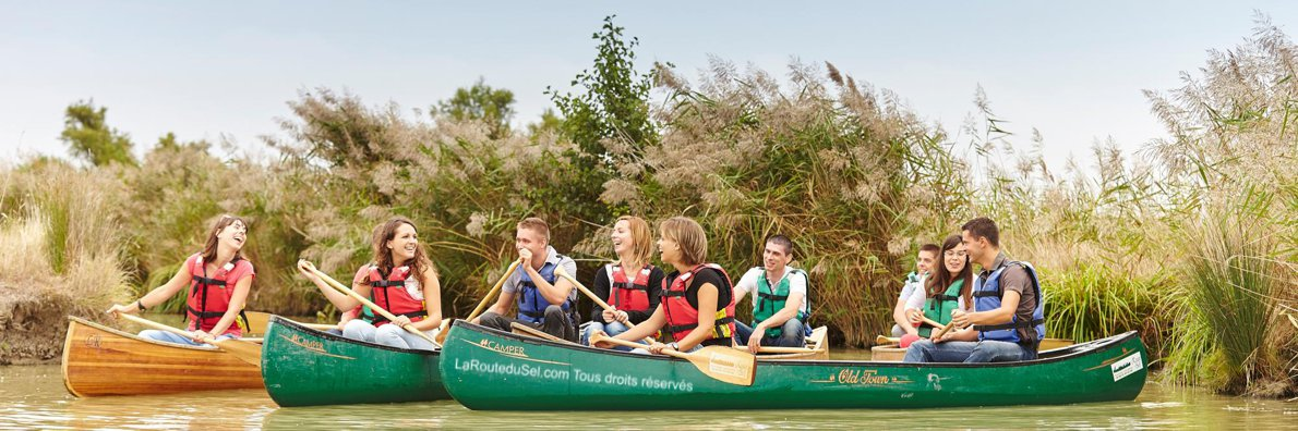 Balade en canoë pour les groupes en Vendée
