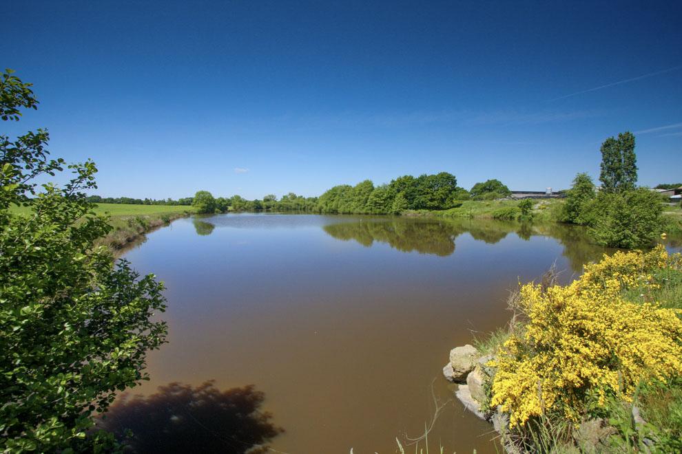 Gîte de pêche sur étang privé sans carte de pêche