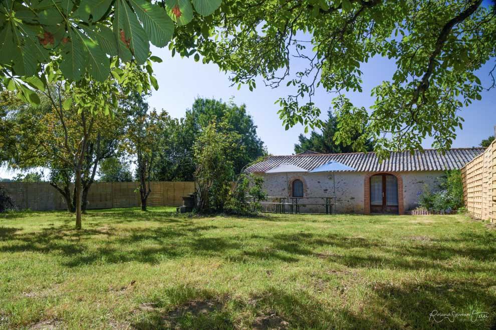 Gîte de groupe avec un jardin clos en Vendée