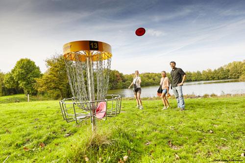Activité pour les groupes pendant votre séjour le disc golf