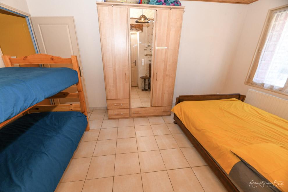 Chambre du gîte en Vendée