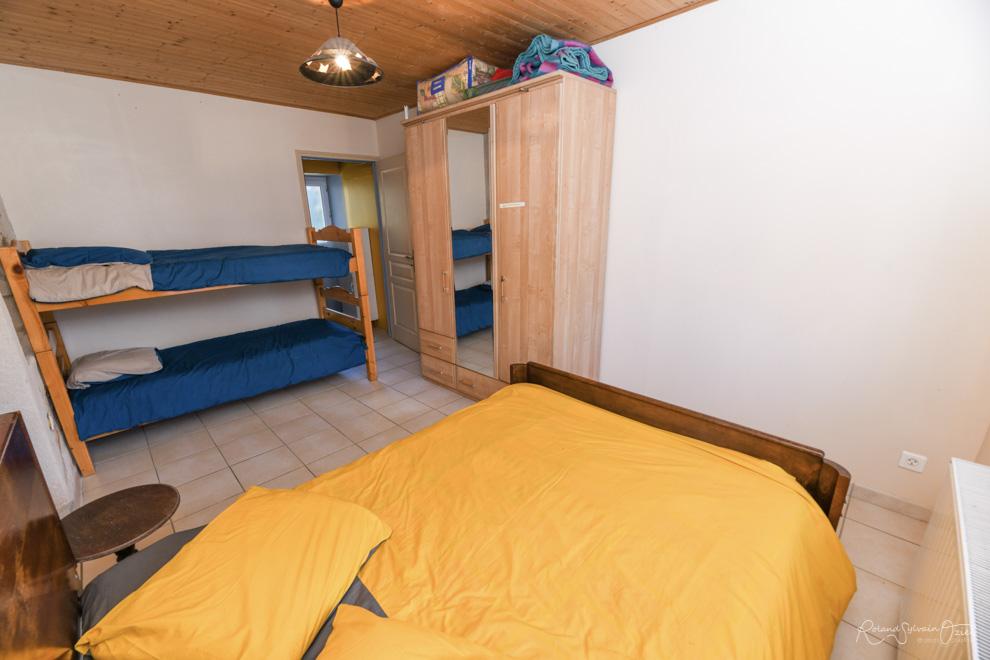 chambre du gîte pour 5 personnes en Vendée