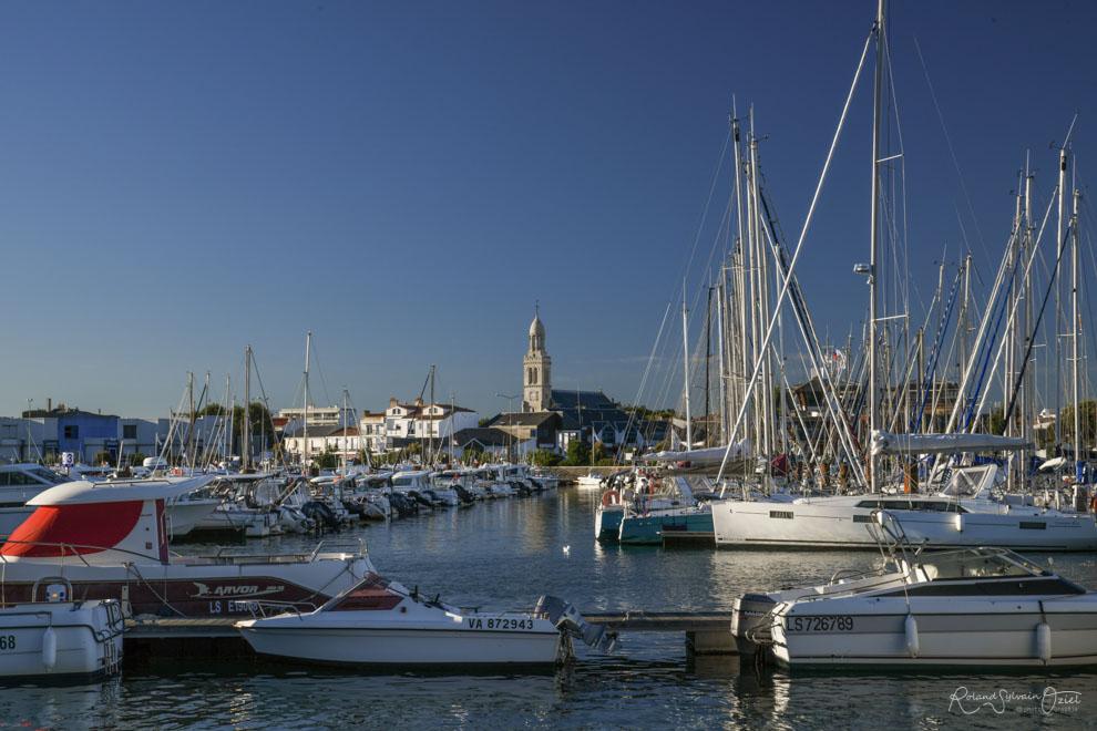 Port de sint gilles croix de vie en Vendée